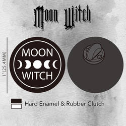 Moon Witch Pin by ToxicRoma