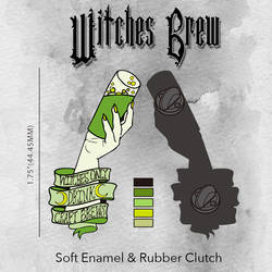 Witches Brew Pin by ToxicRoma