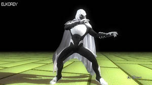 HAYABUSA Moon Knight Marvel NOW ELKORDY by mohamedelkordy129