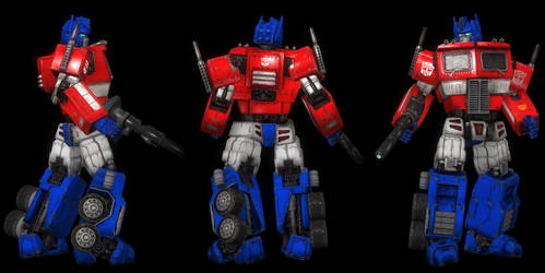 (RELEASE)LEON_Optimus Prime G1 by mohamedelkordy129