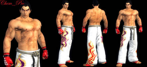 HAYABUSA_Kazuya Classic Dougi by mohamedelkordy129