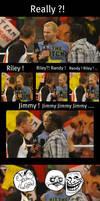 Randy ! Riley ! Jimmy ! by PunkRoXanne