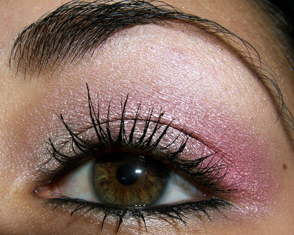 Pink Eye Makeup Closeup By Temptalia On Deviantart