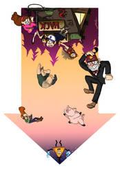 Gravityfalls by KisaSohmaCookie
