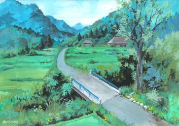back to countryside | BG by hooshiyo