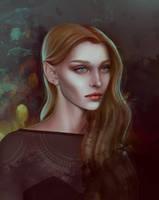 Feyre Archeron by MORGANA0ANAGROM