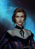 Tessa Gray by MORGANA0ANAGROM