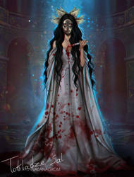 Bloody Queen by MORGANA0ANAGROM