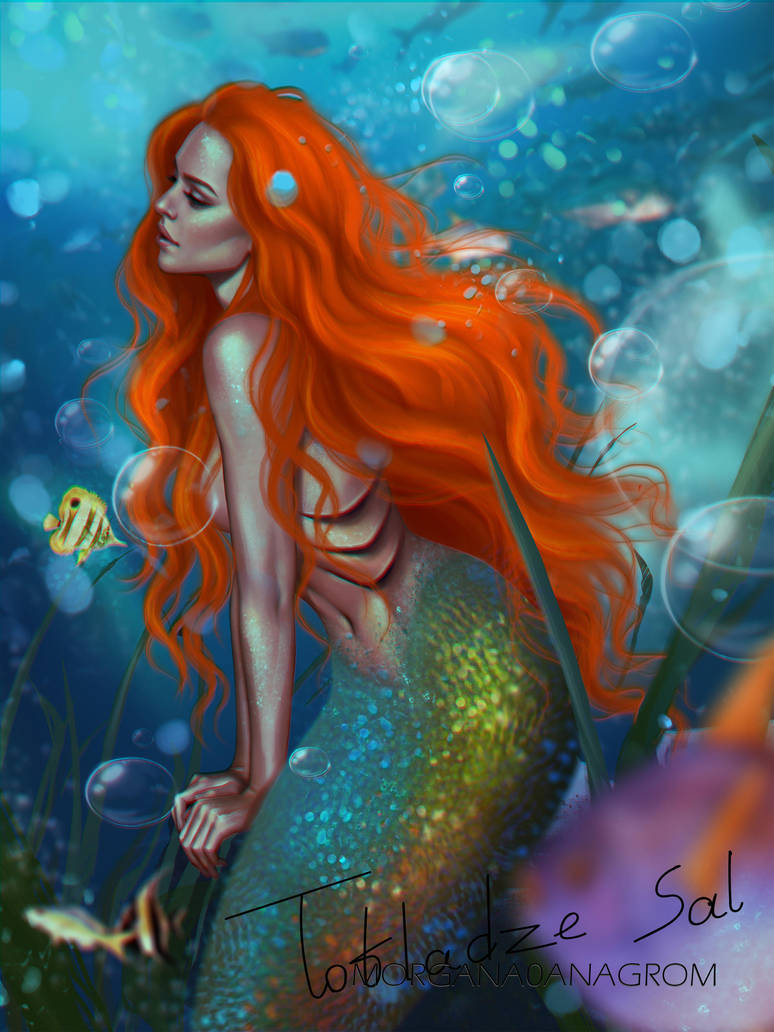 Little Mermaid by MORGANA0ANAGROM