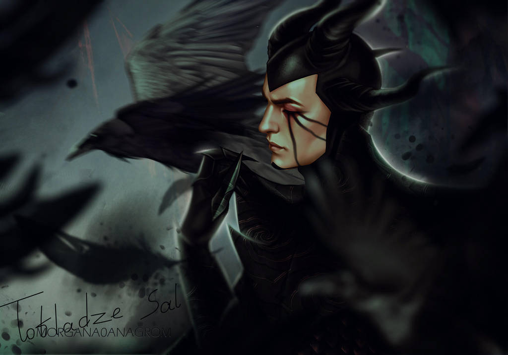 Maleficent by MORGANA0ANAGROM
