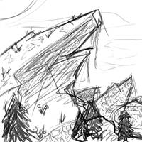 Landscapey wtf by Cinnomnomnom