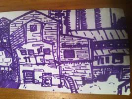 scribble of pl_barnblitz by Cinnomnomnom