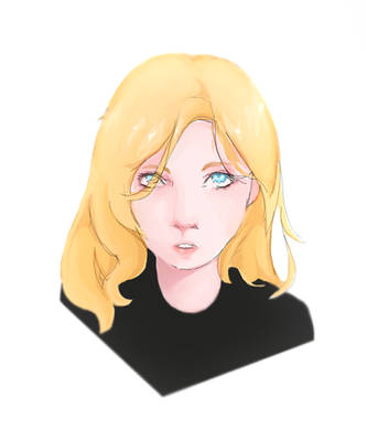 drawing with mouse - blonde by drawingwithmouse101