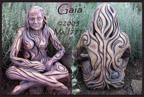 Gaia, Earth Goddess--Final by MsJ777