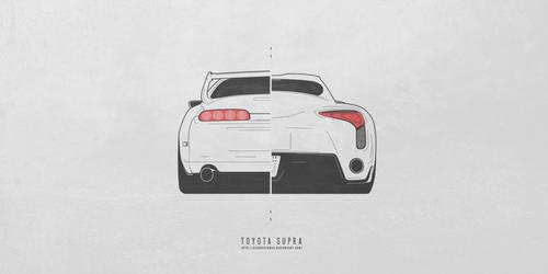Toyota Supra by AeroDesign94