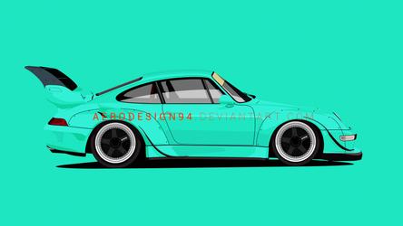 RWB Porsche v2 by AeroDesign94