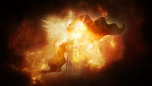 Celestial Celestia by AeliosZero
