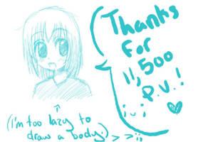 .Thanks for 11 500 PVs. by Kataang-furuba