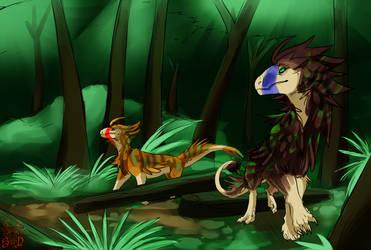 Jungletreeleapers by SteamPoweredDragin