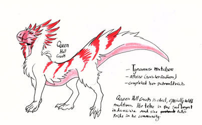 Queen Hellcreek by SteamPoweredDragin