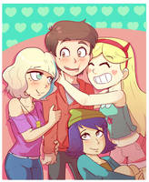 Marco VS. the force of love by PalmZarel