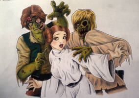 Star Wars Zombies!!! by whitneyw