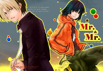 Hikago :Mr and Mr Doujin cover by MoreProject