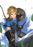 The legend of Zelda: Breath of the Wild | Fanart by Asianhulk7
