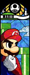 Smash Bros - Mario by Quas-quas