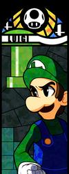 Smash Bros - Luigi by Quas-quas