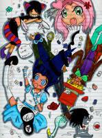 Hinata in Wonderland by syfore