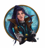 League of Legends - Pulsefire Caitlyn by GM-Pi