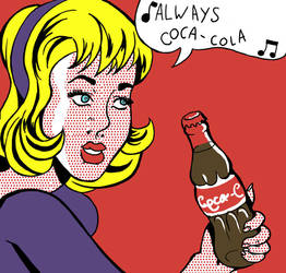 always coca-cola by beespit