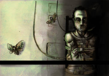 Silence Of  the Lambs by beespit