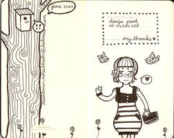 moleskine page 1 by beespit