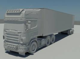 scania truck _wip by marauderx666