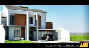House Exterior 3D 3b by marauderx666