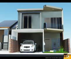 Pesona Depok Estate House Render by marauderx666