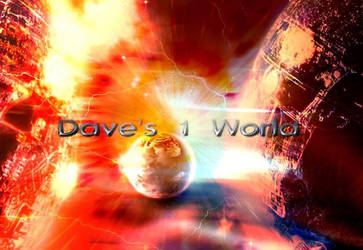 Dave's 1 World Logo (2009) by PowerStroke3