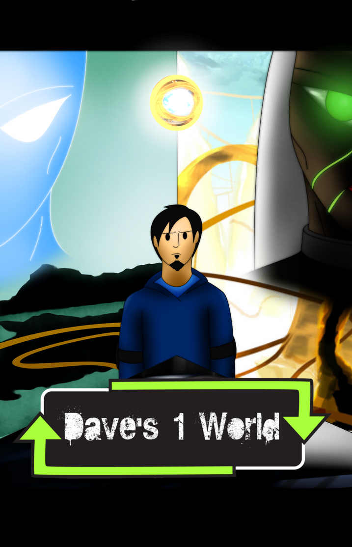 Dave's 1 World Comic Cover by PowerStroke3
