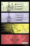 4 panels Secret Origin - Flash by AKsolut