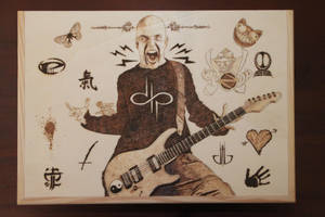 Devin Townsend - Pyrography by HevyPyrography