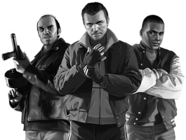 Grand Theft Auto V: GTA IV Costumes by LeeHatake93