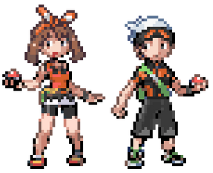 ORAS Brendan and May: GBA Style by LeeHatake93