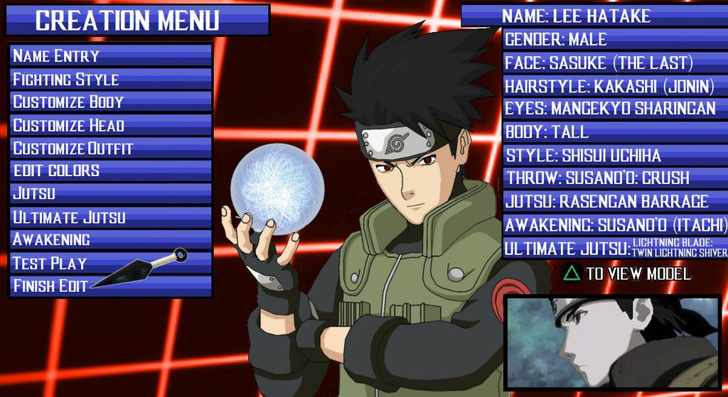 Naruto Test the game