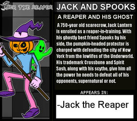 TxL: Jack and Spooks Bio by LeeHatake93