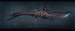 Ahriman's Sword by FirstKeeper