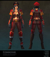 Commissar wip 02 by FirstKeeper
