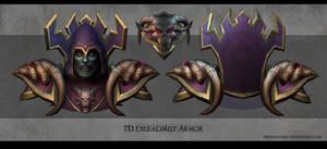 Undead warlock by FirstKeeper