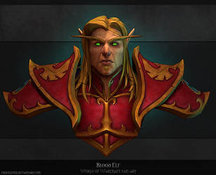 Blood elf. by FirstKeeper